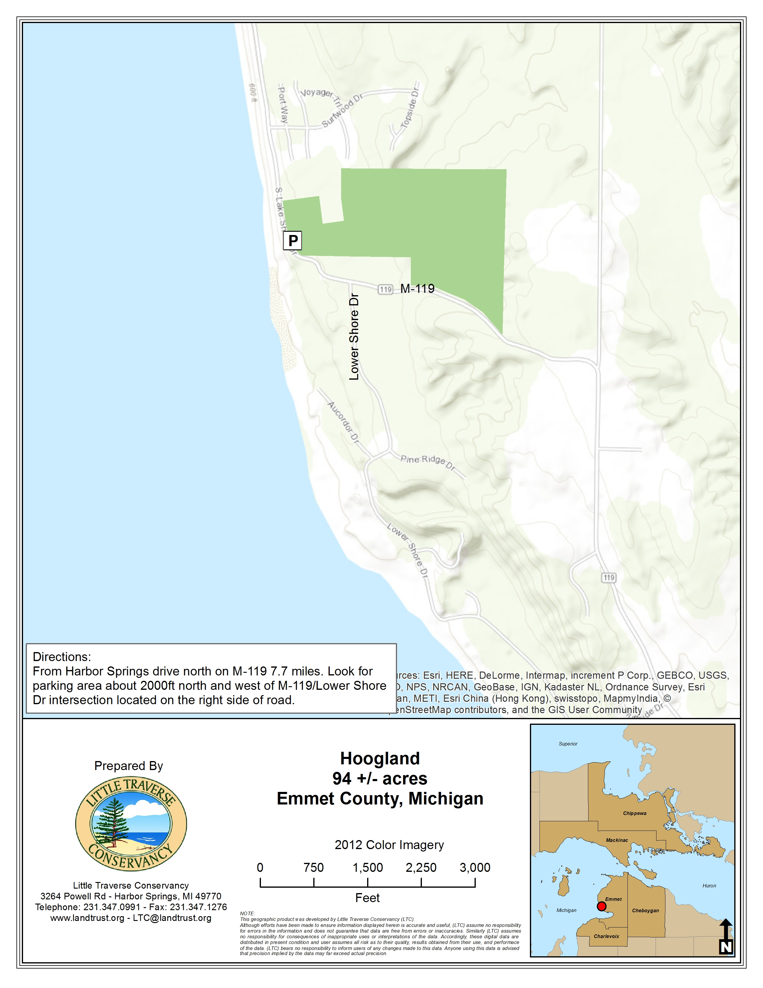 Michigan emmet county alanson - Hoogland Family
